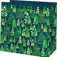 Snowy Trees Large Gift Bag