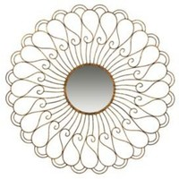 One Kings Lane - Evergreen - Paisley Burst Mirror