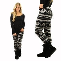 Snow Day Fleece Lined Leggings