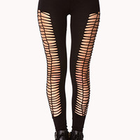Daring Caged Leggings