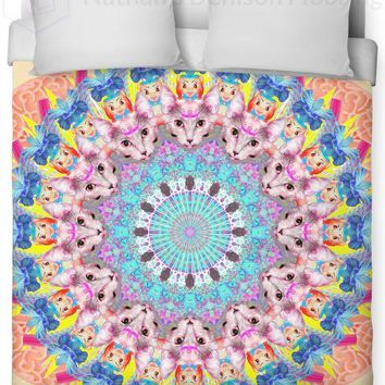 Past Life Mandala Duvet Cover