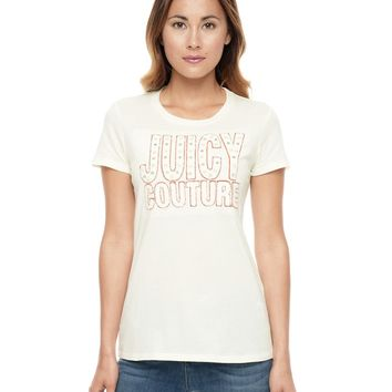 Logo Island Blooms Short Sleeve Tee by Juicy Couture