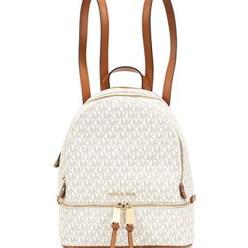 MICHAEL Michael Kors Rhea Signature Medium Backpack | Dillards