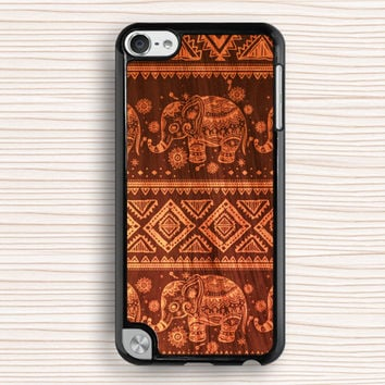 wood grain elephant ipod case,art wood grain ipod 4 case,wood grain design ipod 5 case,elephant pattern touch 4 case,art touch 5 case,cool ipod touch 4 case,classical ipod touch 5 case