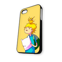 Adventure Time Finn and Jake 2 iPhone 4/4S Case