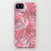 Roses iPhone & iPod Case by Kate