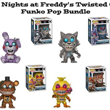 Five Nights At Freddy's Twisted Ones Funko Pop! Books Bundle