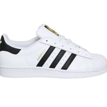 DCCKIG3 Adidas Superstar White Black Foundation