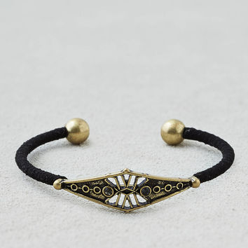 AEO Antiqued Open Bracelet , Black