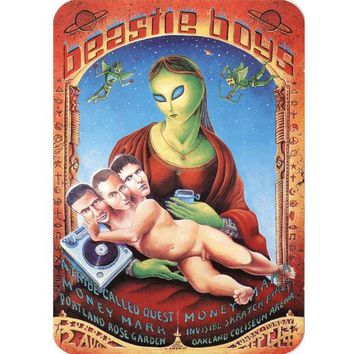 DCCK8UT Beastie Boys Alien Sticker