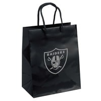 Oakland Raiders Gift Bag - Elegant Foil