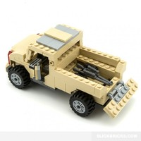 Armoured Pick-Up Truck - Lego Compatible Army
