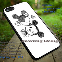 Minnie Kiss Mickey Mouse Disney iPhone 6s 6 6s+ 5c 5s Cases Samsung Galaxy s5 s6 Edge+ NOTE 5 4 3 #cartoon #animated #disney #MickeyMouse dt