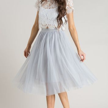 Best Tulle Midi Skirt Products on Wanelo