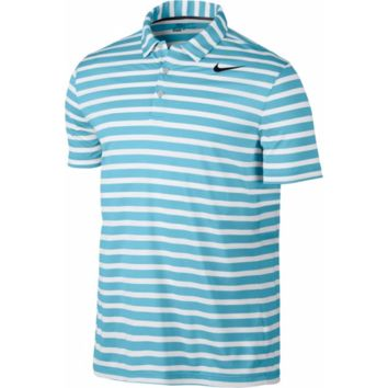 Nike Men's Breathe Stripe DRI-FIT Golf Polo Shirt  - XL & Large - NWT