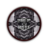 Wake Up And Hustle Motivational  Wall Clock