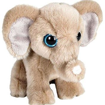 "Wildlife Tree 7"" Stuffed Elephant Plush Floppy Animal Heirloom Collection"