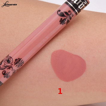 15 Colors Sexy Lip Gloss matte liquid lipstick Waterproof Long Lasting matte liquid lipstick M02816