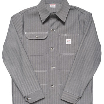 Fisher Stripe Chore Coat