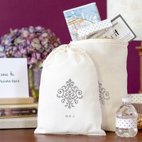 Personalized 10 Welcome Wedding Bags - Bridesmaid Gift Bags