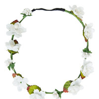 Floral Crown - White