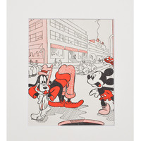 Vintage Mickey Mouse Print, #02