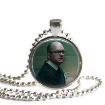 What We Do In The Shadows Colin Robinson 1 Inch Silver Plated Pendant Necklace Handmade