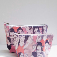 Makeup Bag by leahgoren on Etsy