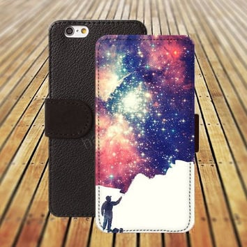 iphone 5 5s case Artificial Nebula iphone 4/ 4s iPhone 6 6 Plus iphone 5C Wallet Case , iPhone 5 Case, Cover, Cases colorful pattern L105