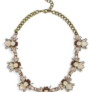 BaubleBar Abeja Crystal Collar Necklace | Nordstrom