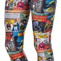DC comics leggings size medium