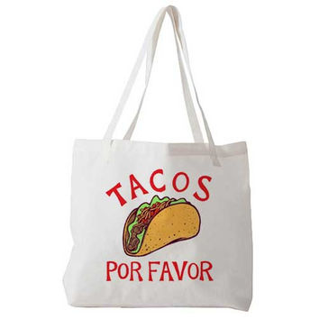 Tacos Por Favor - Tote Bag