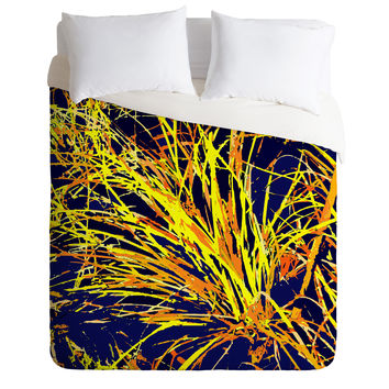 Rosie Brown Silly Strings Duvet Cover