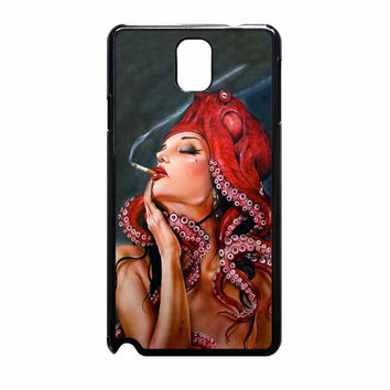 Octopus Tattooed Sigaret Samsung Galaxy Note 3 Case
