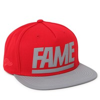 Hall of Fame 3M Snapback Hat - Mens Backpack - Red - One