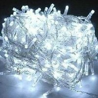 NexScene 8 Modes 10M 100 LED String Fairy Light for Wedding Christmas Party Holiday(White)