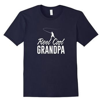 Reel Cool Grandpa - Fishing T-shirt