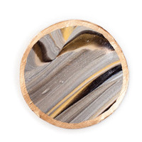 Beautiful Dark and Stormy Marble Coasters (set of 4)