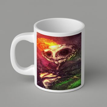 Gift Mugs | Colorful Jack Skellington Ceramic Coffee Mugs