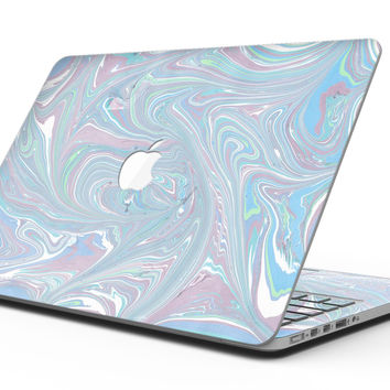 Marbleized Swirling Color Passion - MacBook Pro with Retina Display Full-Coverage Skin Kit