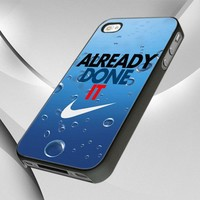0797 Nike Logo Already Done design for iPhone 4 or 4S Case / Cover