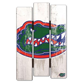 Florida Gators De-Fence 11x17 Wood Sign