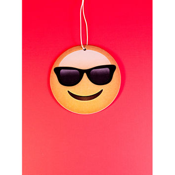 Sunglasses Emoji Air Freshener