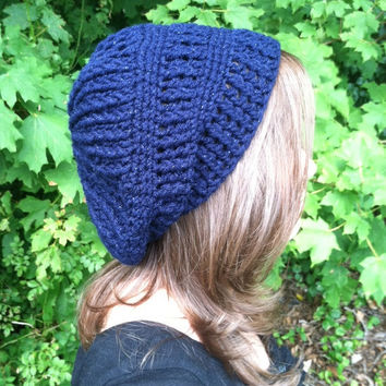 Midnight Sparkle Slouch Hat