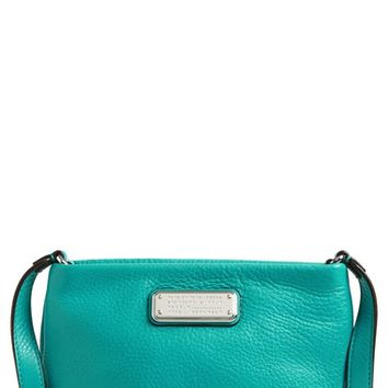 Women's MARC BY MARC JACOBS 'New Q - Percy' Leather Crossbody Bag