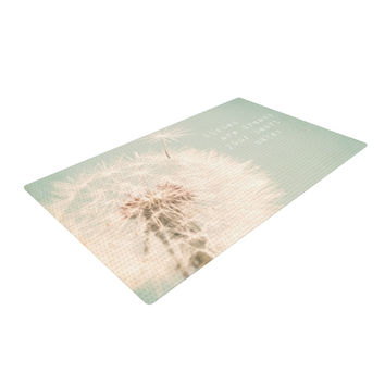 "Debbra Obertanec ""Wishes Are Dreams"" Fuzzy Woven Area Rug"