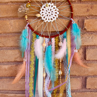 Dreamcatcher - Beach Theme - Pastels - Seashells