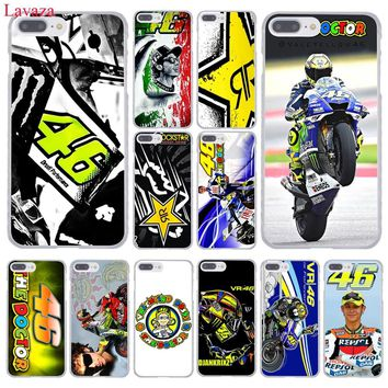 Lavaza Valentino Rossi Vr46 Devil Hard Coque Shell Phone Case for Apple iPhone 8 7 6 6S Plus X 10 5 5S SE 5C 4 4S Cover