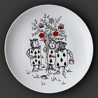 Card Painters Alice In Wonderland Plate