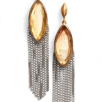 Dean Davidson Ornate Semiprecious Stone Fringe Earrings | Nordstrom
